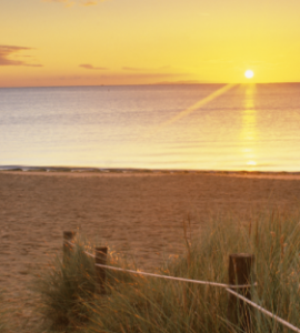 Studland Bay Sunset