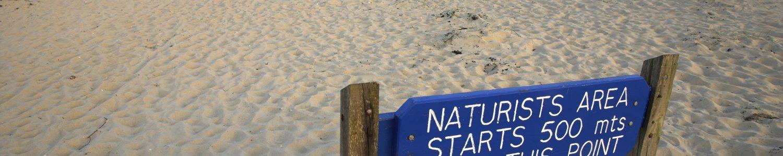 Studland Naturist Sign